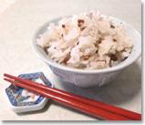 健康食として注目される古代米(赤米)
